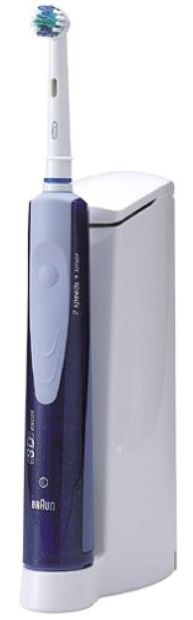 落とし穴スピリチュアル流体ブラウン オーラルB 3Dエクセル 電動歯ブラシ スタンダードタイプ D17525u