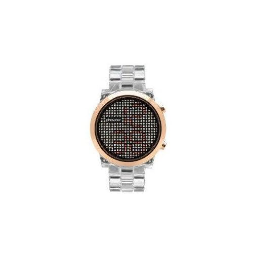 腕時計 Phosphor Women's MD010L Swarovski Mechanical Digital Watch【並行輸入品】