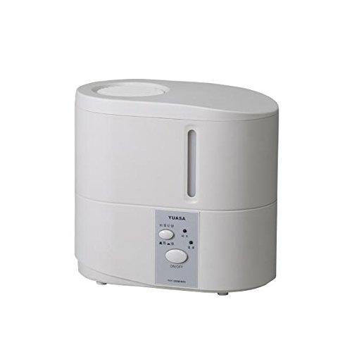 ユアサ スチーム式加湿器(木造6畳まで/プレハブ洋室10畳まで ホワイト) ...