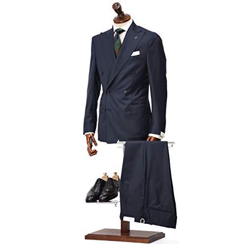 [De Petrillo【デ ペトリロ】]ダブルスーツ SORRENTO X/C9 TW20002U/106 ウール ネイビー