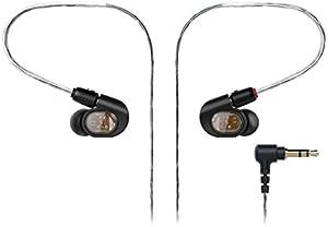 audio-technica オーディオテクニカ バランスド・アーマチュア型インナーイヤーヘッドホン ブラック ATH-E70