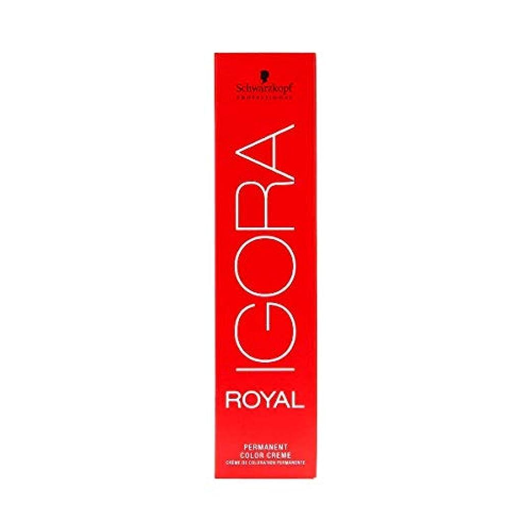 使い込む首掃くシュワルツコフ IGORA ロイヤル6-65パーマネントカラークリーム60ml[海外直送品] [並行輸入品]