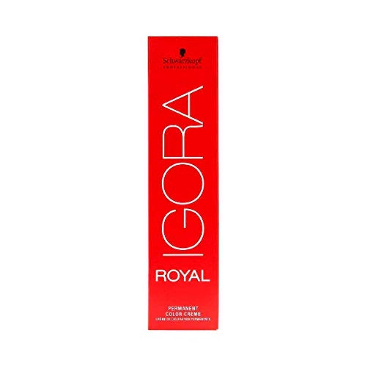 垂直解き明かす継続中シュワルツコフ IGORA ロイヤル9,5-4パーマネントカラークリーム60ml[海外直送品] [並行輸入品]
