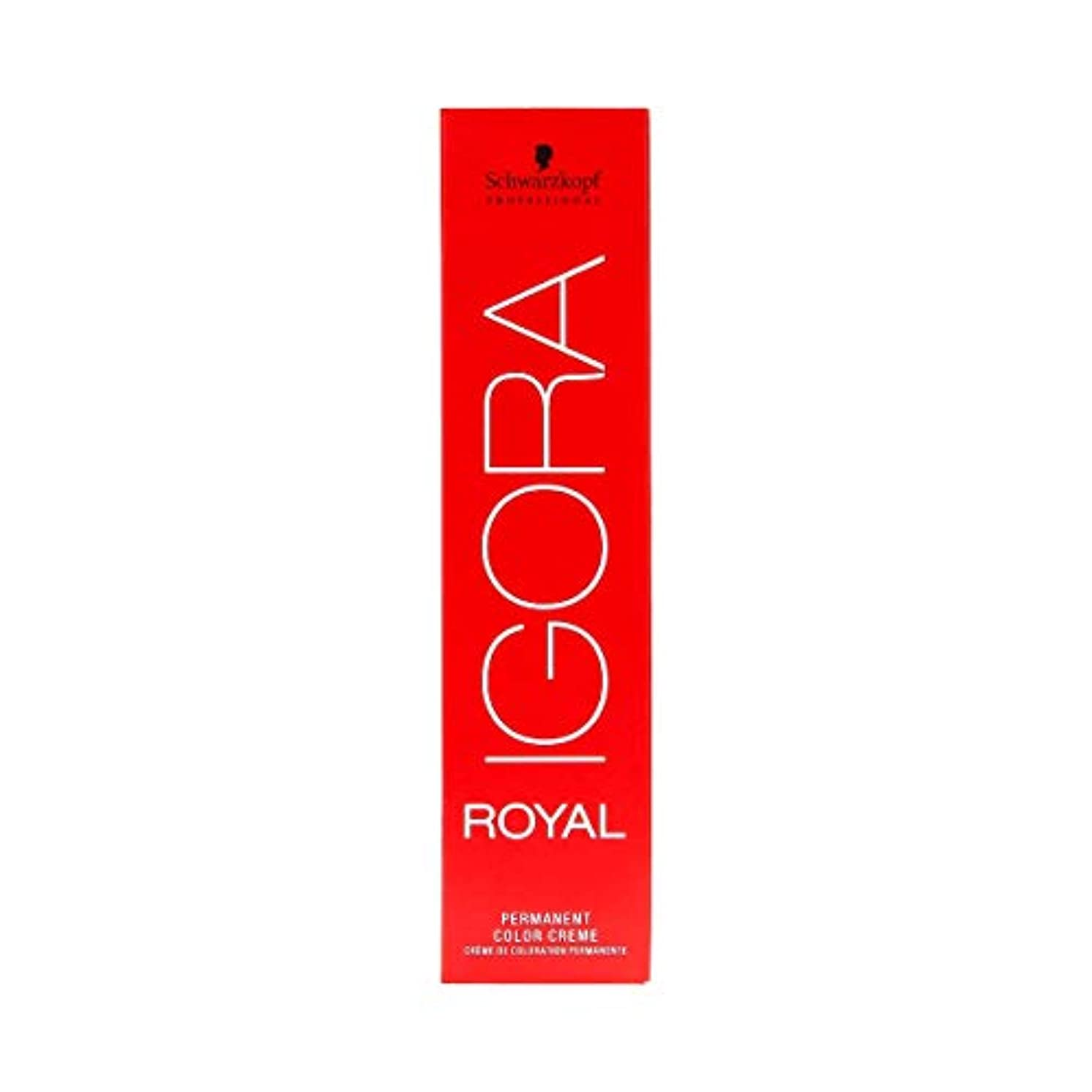 真鍮抱擁溝シュワルツコフ IGORA ロイヤル9,5-1パーマネントカラークリーム60ml[海外直送品] [並行輸入品]