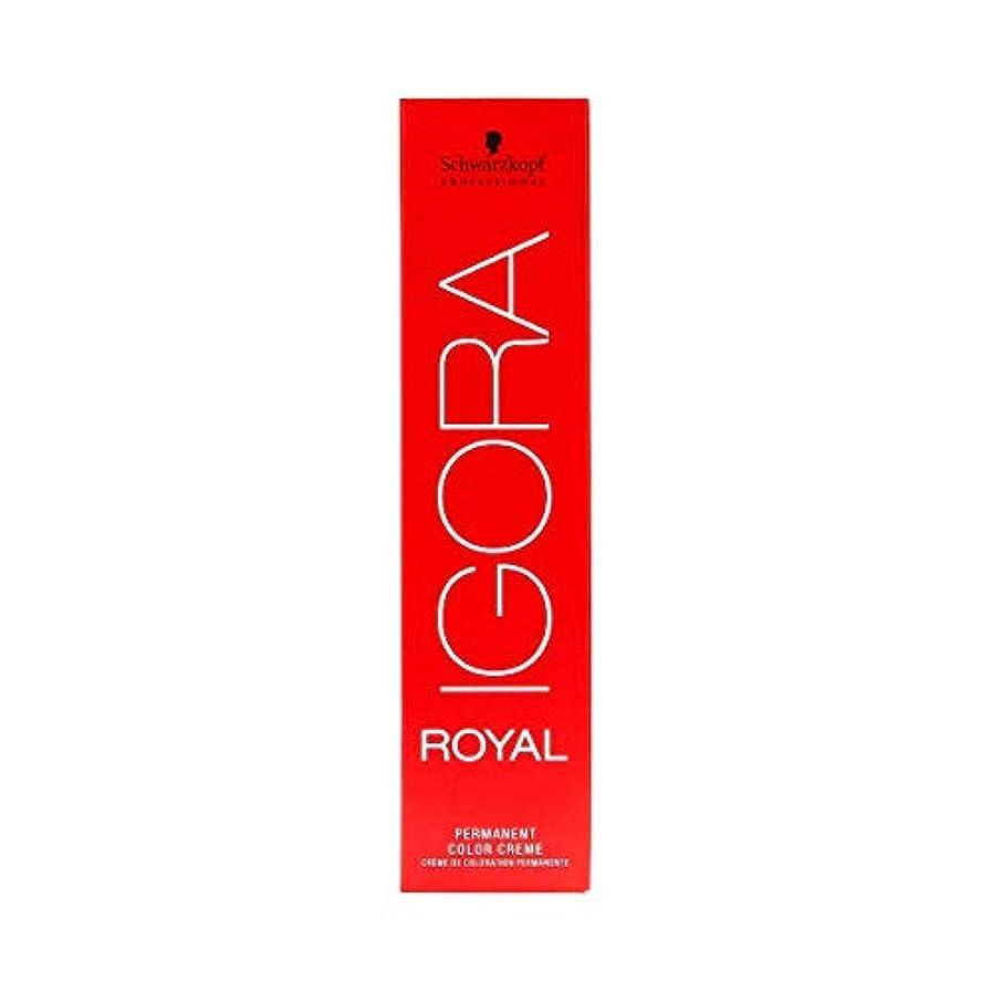 ビルマ中でマインドフルシュワルツコフ IGORA ロイヤル4-5パーマネントカラークリーム60ml[海外直送品] [並行輸入品]