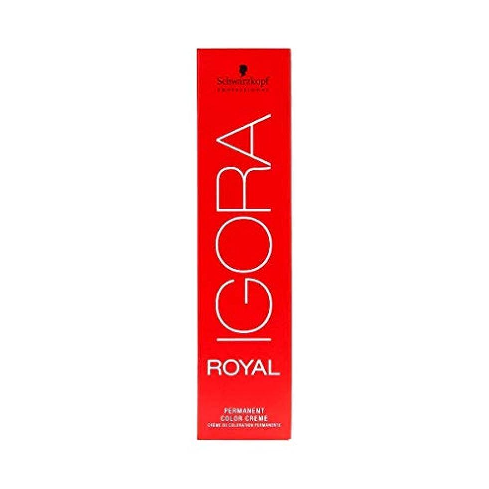 食欲バスケットボール包帯シュワルツコフ IGORA ロイヤル4-5パーマネントカラークリーム60ml[海外直送品] [並行輸入品]