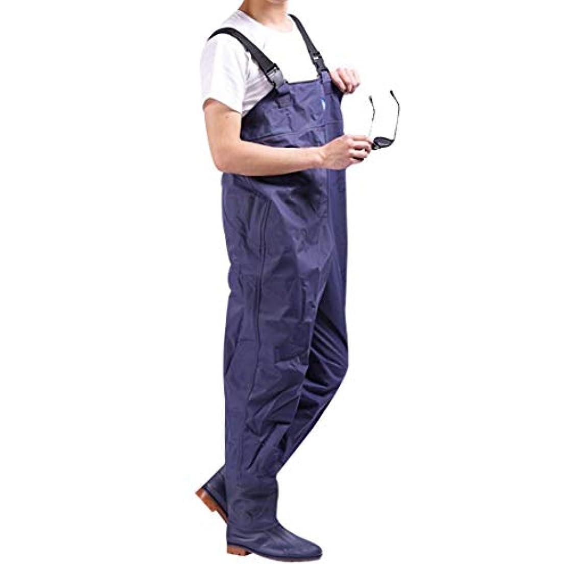 ベリーイタリック疎外Autek 釣り用ウェーダーズパンツ チェストワーク 防水 大人用パンツ オーバーオール ブーツ