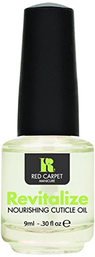 顔料テーブル引き受けるNEW Red Carpet Manicure Revitalize Nourishing Cuticle Oil Nail Rehydrate Polish by Red Carpet Manicure