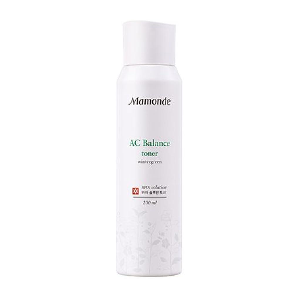 自然急流学部長[New] Mamonde AC Balance Toner 200ml/マモンド AC バランス トナー 200ml [並行輸入品]
