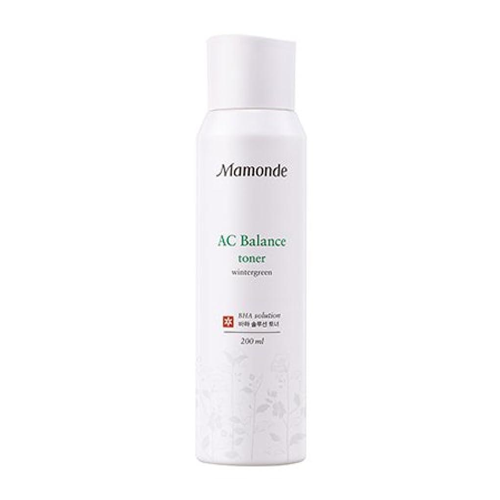カフェスペア圧縮[New] Mamonde AC Balance Toner 200ml/マモンド AC バランス トナー 200ml [並行輸入品]