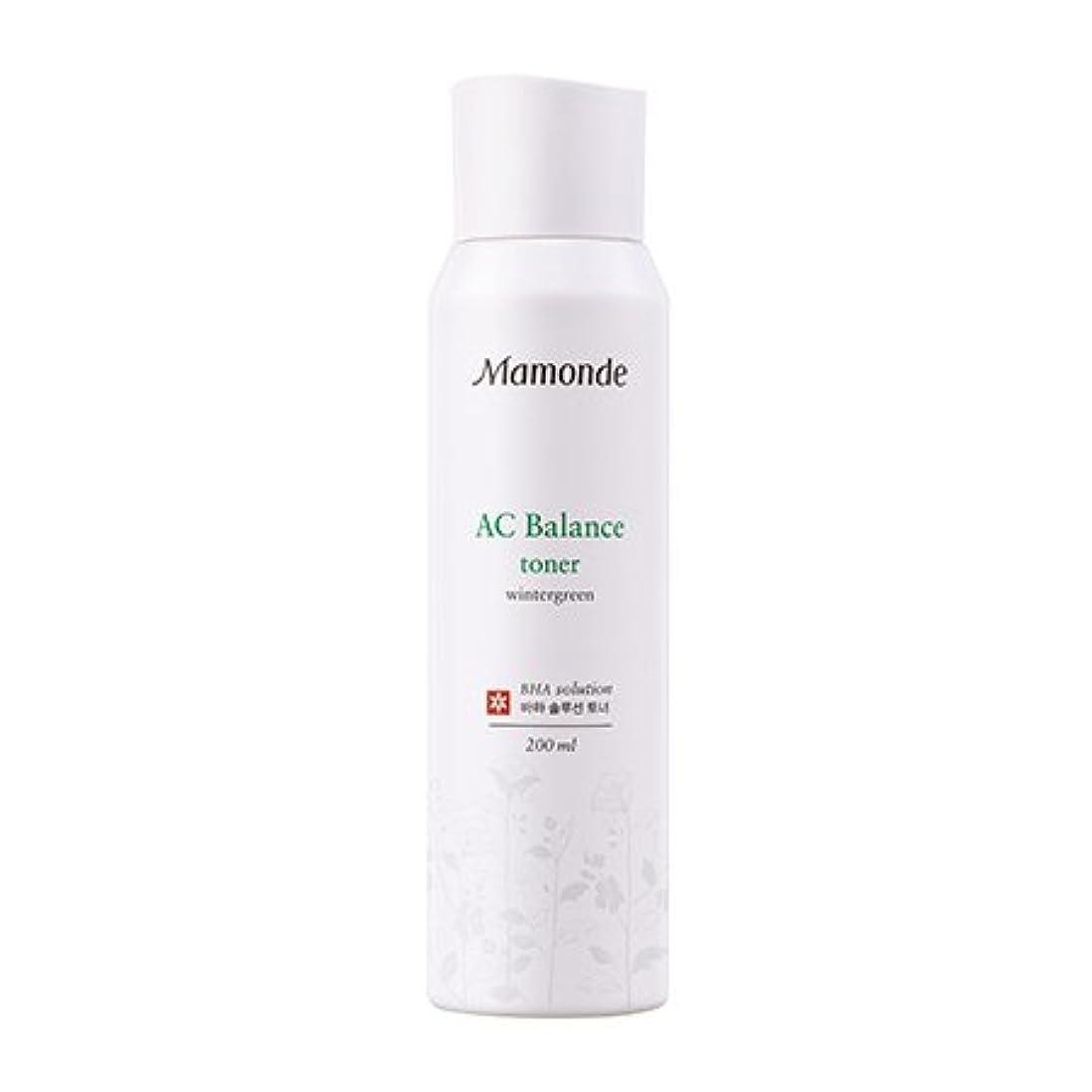 メロドラマ感性不毛の[New] Mamonde AC Balance Toner 200ml/マモンド AC バランス トナー 200ml [並行輸入品]