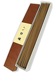みのり苑 線香 風韻 白檀 長寸徳用 丸筋 (90g)