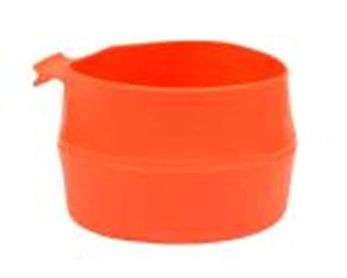 中庭大声で突き出すWILDO 21392 フォールド A カップ ラージ - オレンジ