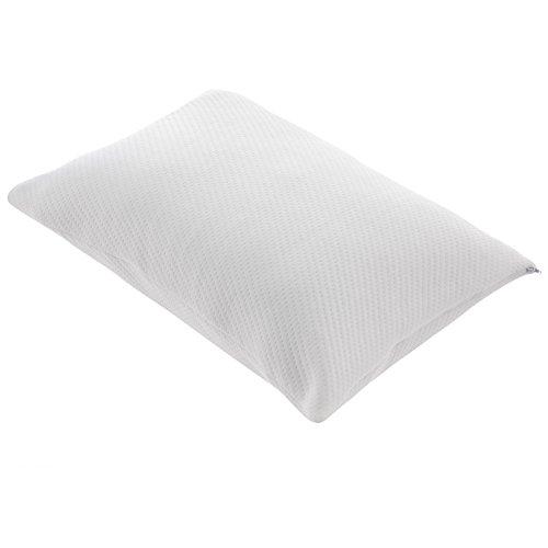 TAMPOR 枕 低反発まくら 米国認証CertiPUR-US取得 頸椎・首・頭を支える健康枕 横向き仰向け寝 吸汗、抗菌、通気 頭痛改善快眠枕 カバー付き洗え 洗濯可 5年品質保証 丈71cm 幅51cm