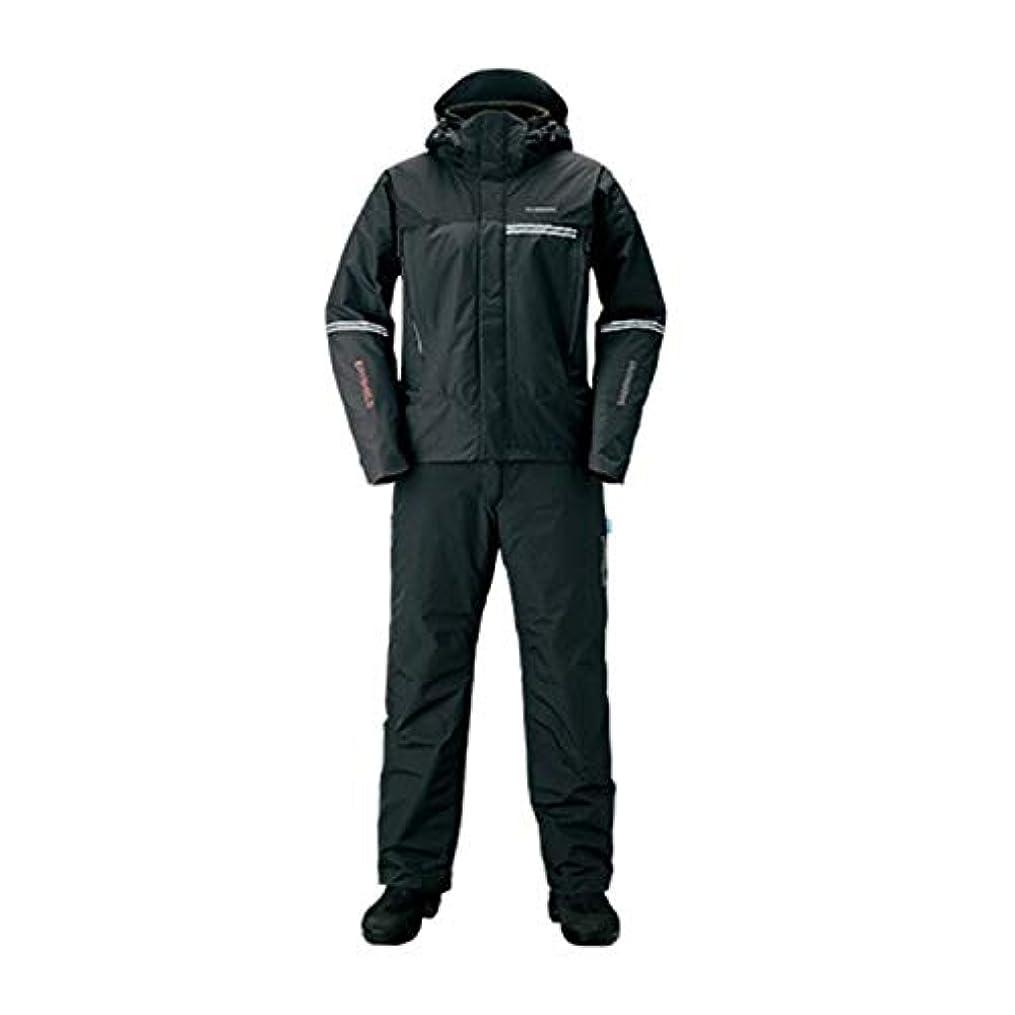安定しましたハプニング共役SHIMANO(シマノ) 防寒着 DSアドバンスウォームスーツ RB-025S ブラック XLs