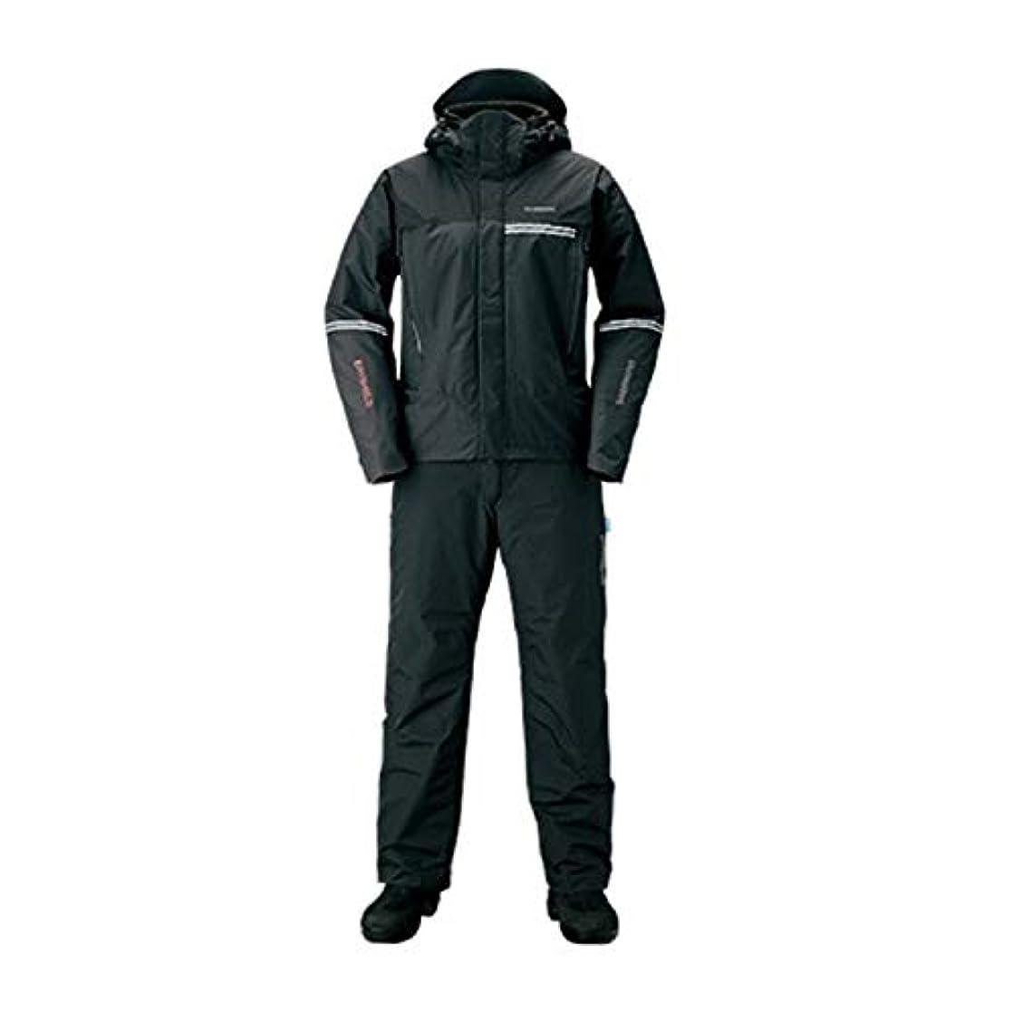 ラリーベルモント本能姓シマノ(SHIMANO) 防寒着 DSアドバンスウォームスーツ RB-025S ブラック XL