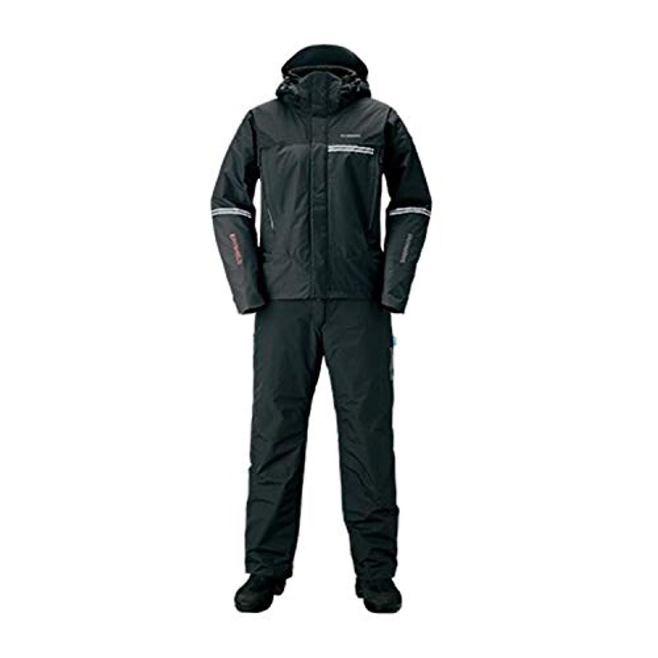 ブッシュ差別的給料シマノ(SHIMANO) 防寒着 DSアドバンスウォームスーツ RB-025S ブラック M
