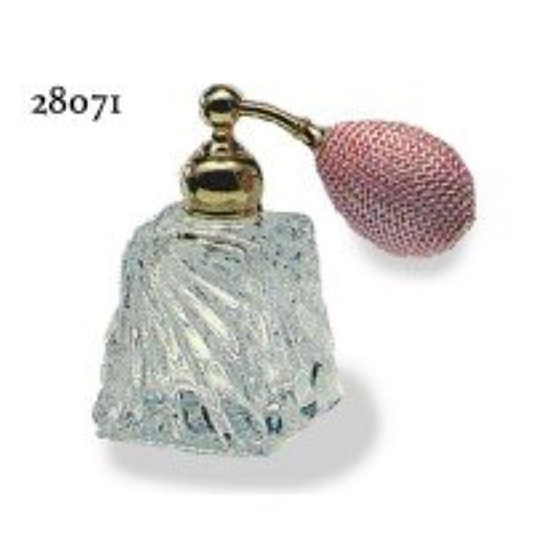 可愛いレイプ不和ドイツ製クリスタル香水瓶リードクリスタル 長