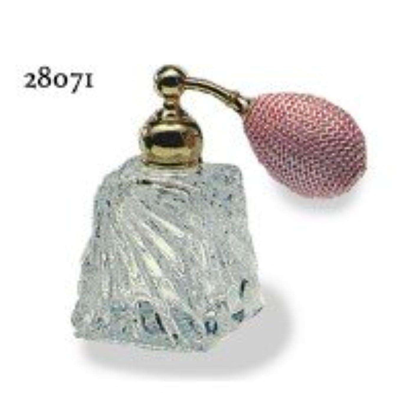 祝う駅電気技師ドイツ製クリスタル香水瓶リードクリスタル 長