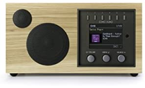 Como Audio: Solo - Wireless Music System with Internet Radio, Spotify Connect, Wi-Fi, FM, and Bluetooth (Hickory)