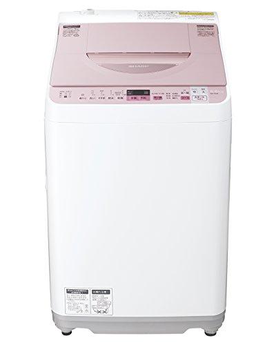 シャープ タテ型洗濯乾燥機 穴なし槽 5.5kg ゴールド ES-TX5A-P