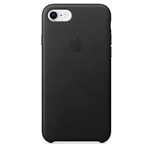 Apple iPhone8/7レザーケース - ブラック