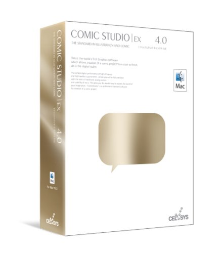 ComicStudioEX 4.0 for Mac OS X版