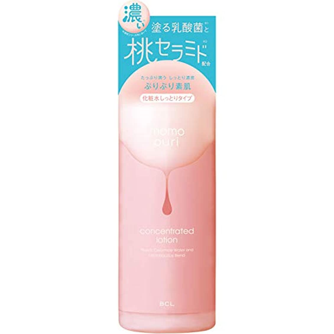 パラメータ谷崇拝する【10個セット】ももぷり 潤い濃密化粧水 200ml