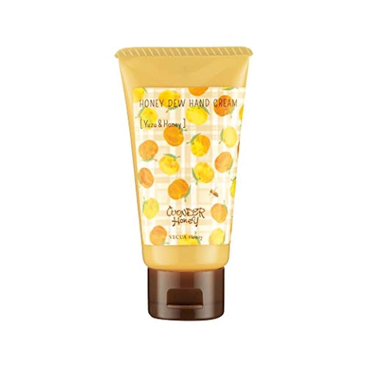 製油所月面極めてベキュア ハニー(VECUA Honey) ワンダーハニー とろとろハンドクリーム 柚子はちみつ 50g