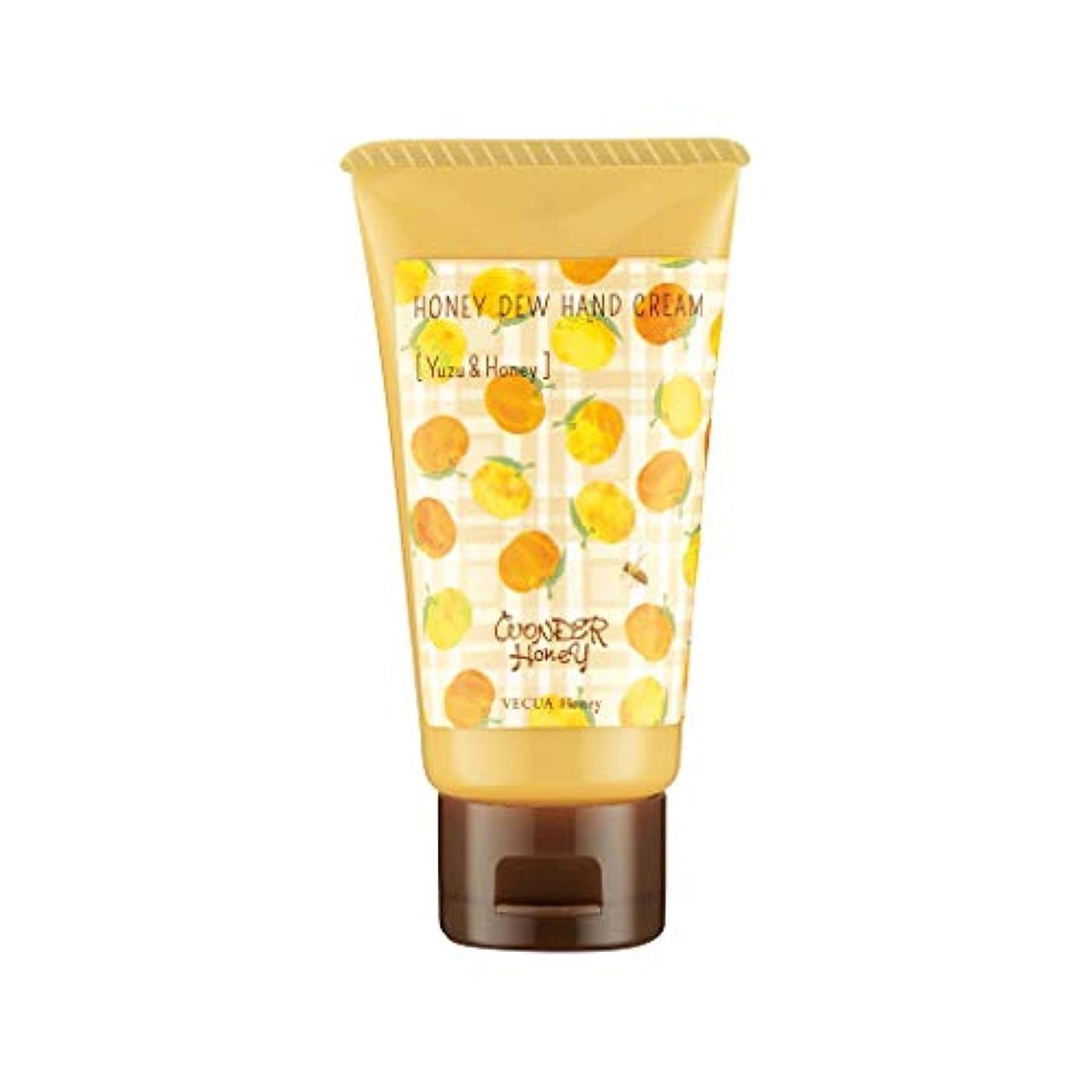 薄暗い治すクックベキュア ハニー(VECUA Honey) ワンダーハニー とろとろハンドクリーム 柚子はちみつ 50g