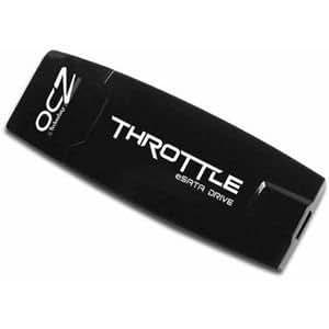OCZ Throttle eSATA Flash Drive 32GB eSATA&USB ドライブ・ブリスターパッケージ・2年保証 OCZESATATHR32G
