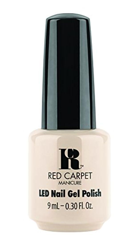 紫のストローク歩き回るRed Carpet Manicure - LED Nail Gel Polish - Fake Bake - 0.3oz/9ml