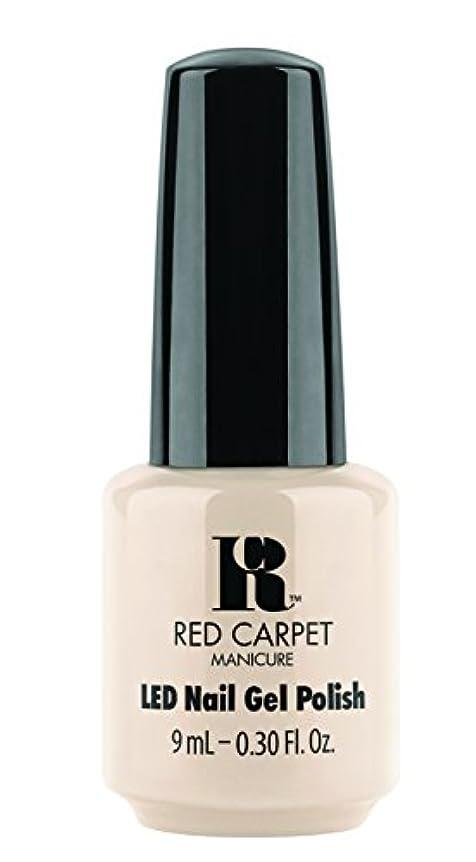 篭打撃家畜Red Carpet Manicure - LED Nail Gel Polish - Fake Bake - 0.3oz/9ml