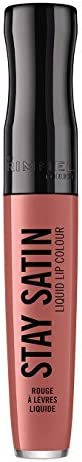 Rimmel London Stay Satin Liquid Lip Colour, 720 Shoulder Pads, 5.5ml