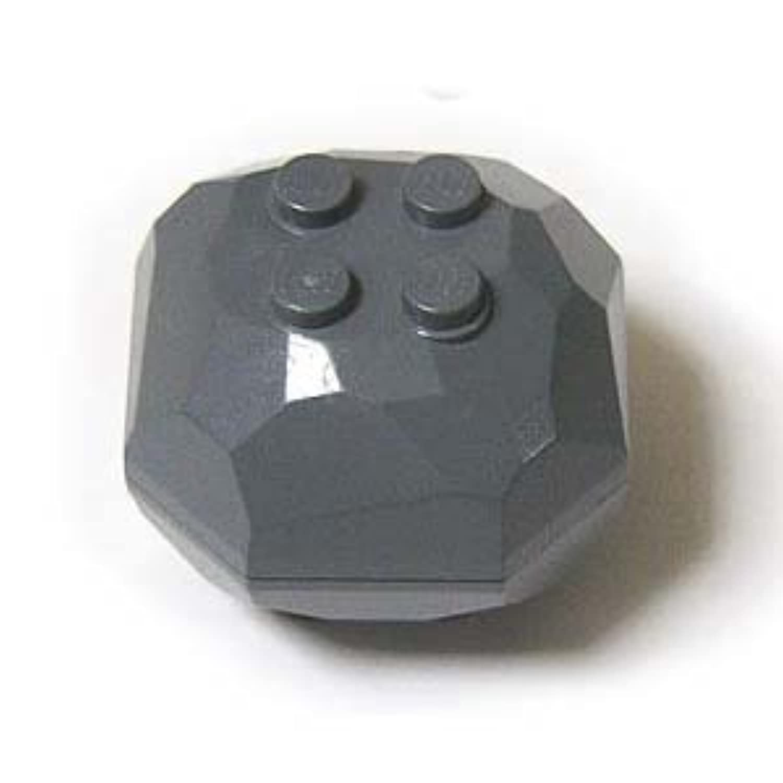LEGOブロック?純正パーツ<岩石/宝石類>岩石(上?下パーツ)(29mm x 32mm) (1個, Dark Bluish Gray) [並行輸入品]