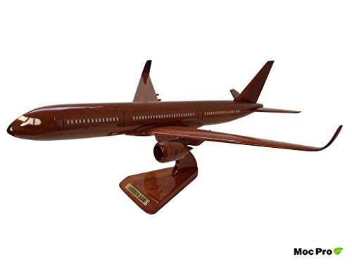 MocPro木製エアプレーンモデル ハンドメイド木製飛行機模型 エアバス350