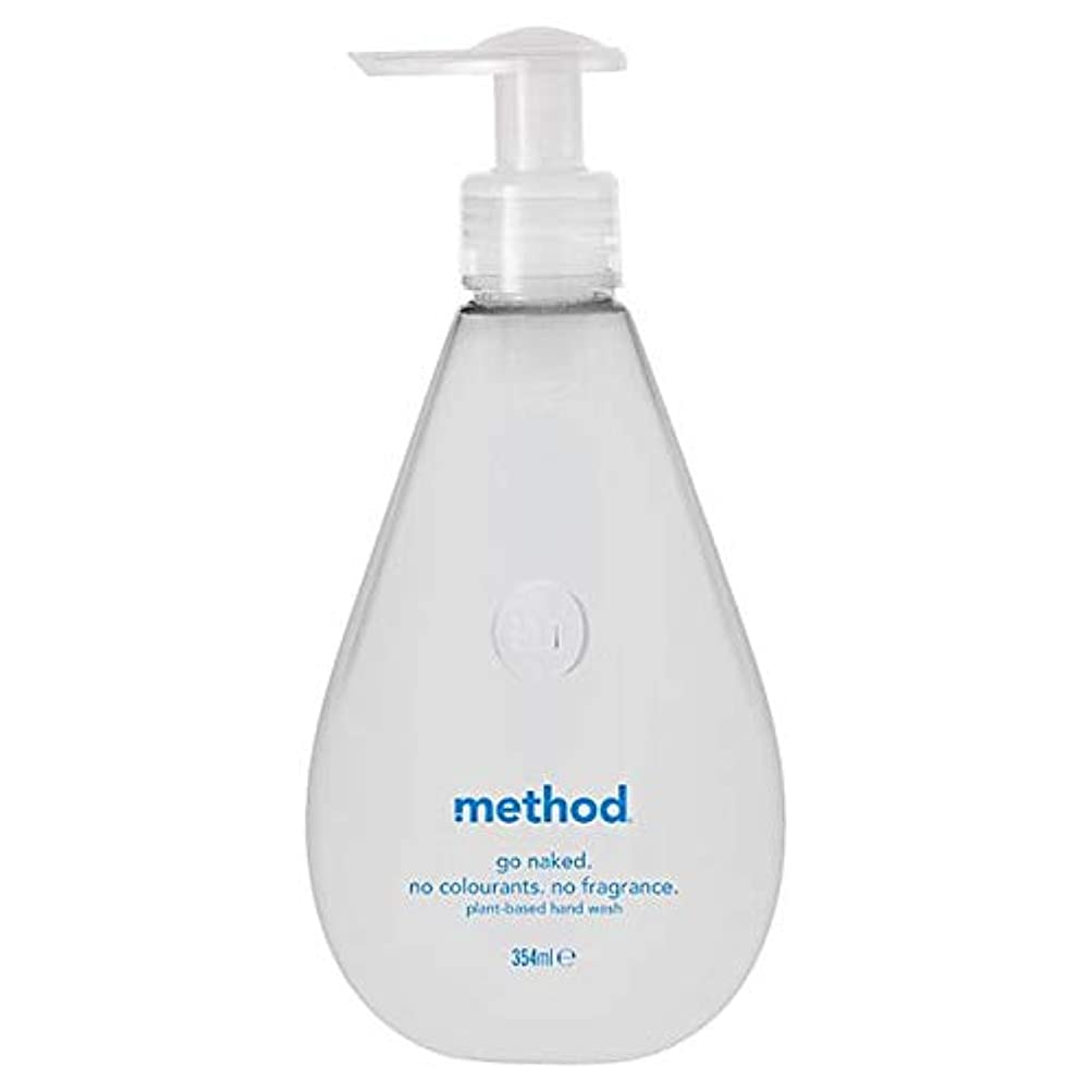 到着するトライアスロン引数[Method ] 方法裸手洗いゲル354ミリリットル - Method Naked Hand Wash Gel 354Ml [並行輸入品]