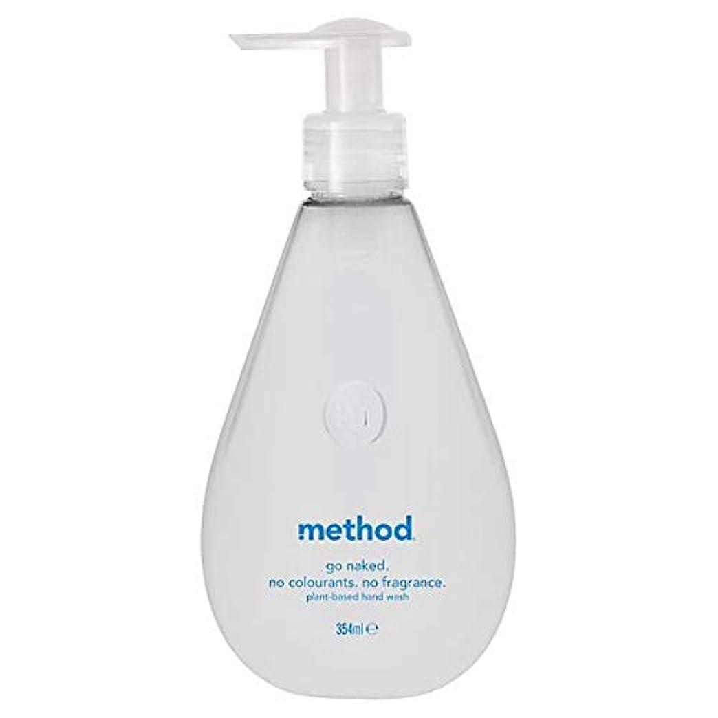 熟練したもちろんペンス[Method ] 方法裸手洗いゲル354ミリリットル - Method Naked Hand Wash Gel 354Ml [並行輸入品]