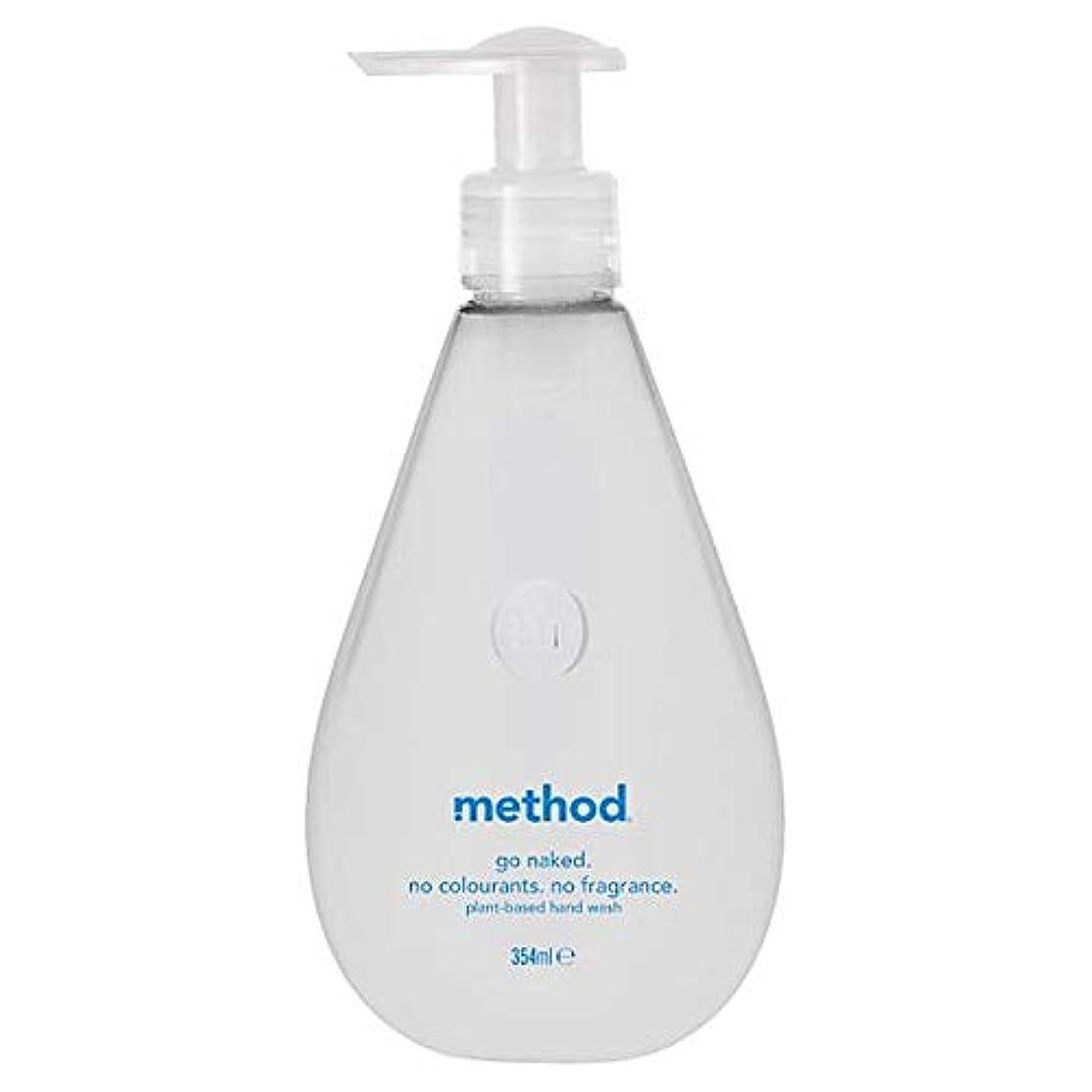 いつでも樫の木四[Method ] 方法裸手洗いゲル354ミリリットル - Method Naked Hand Wash Gel 354Ml [並行輸入品]