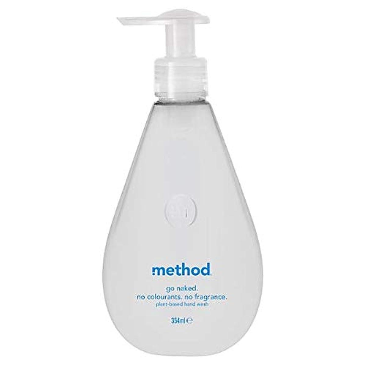 ドレイン共役検索[Method ] 方法裸手洗いゲル354ミリリットル - Method Naked Hand Wash Gel 354Ml [並行輸入品]