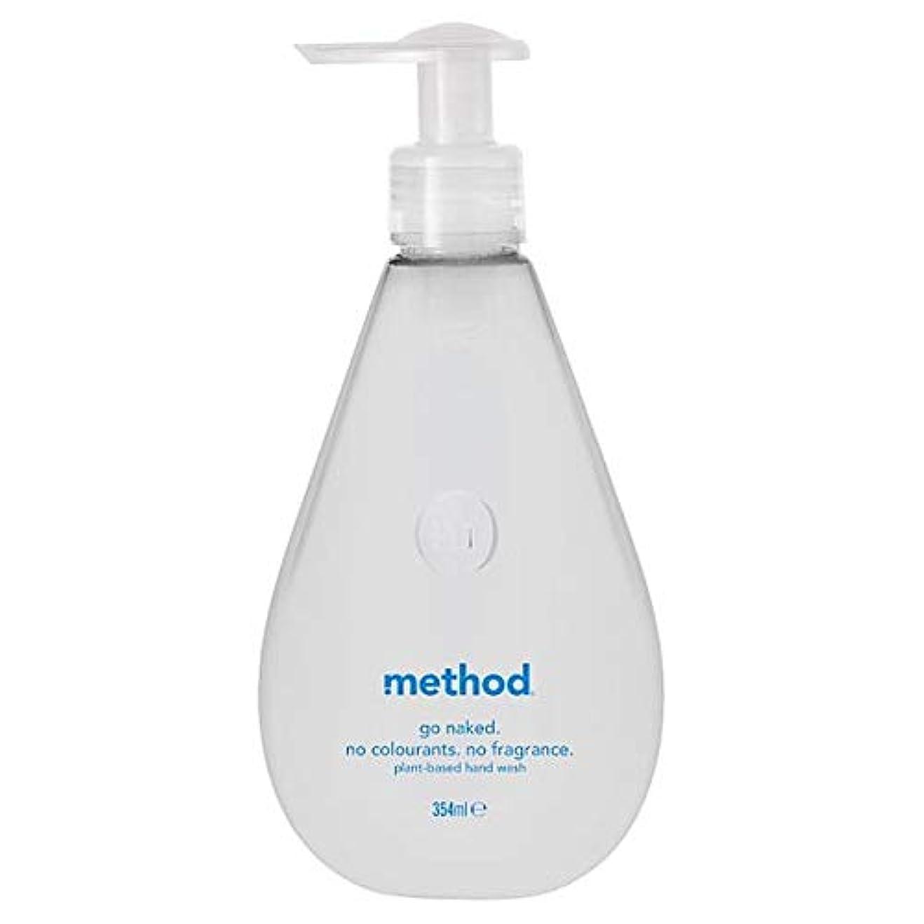 家事をするピル脅かす[Method ] 方法裸手洗いゲル354ミリリットル - Method Naked Hand Wash Gel 354Ml [並行輸入品]