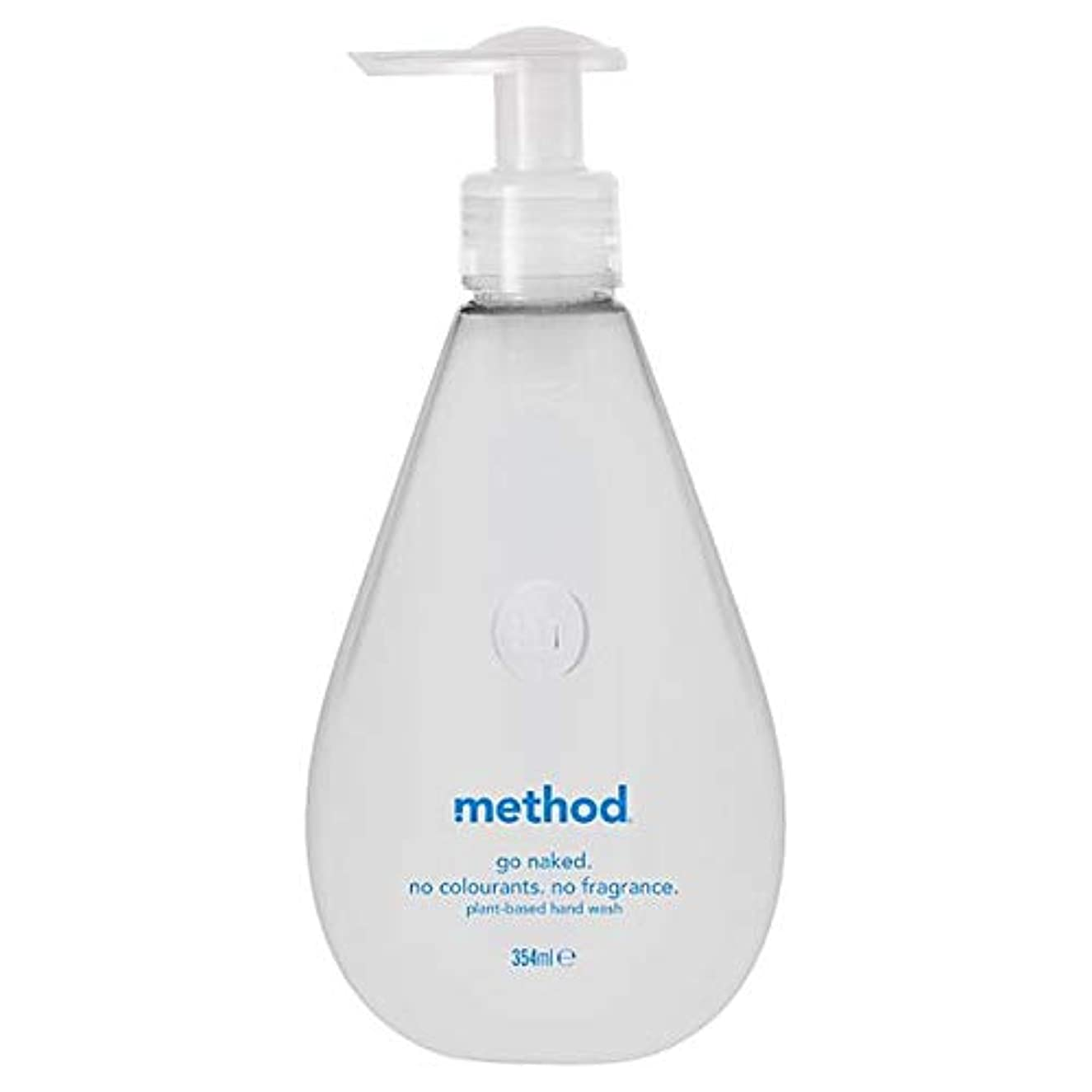 [Method ] 方法裸手洗いゲル354ミリリットル - Method Naked Hand Wash Gel 354Ml [並行輸入品]