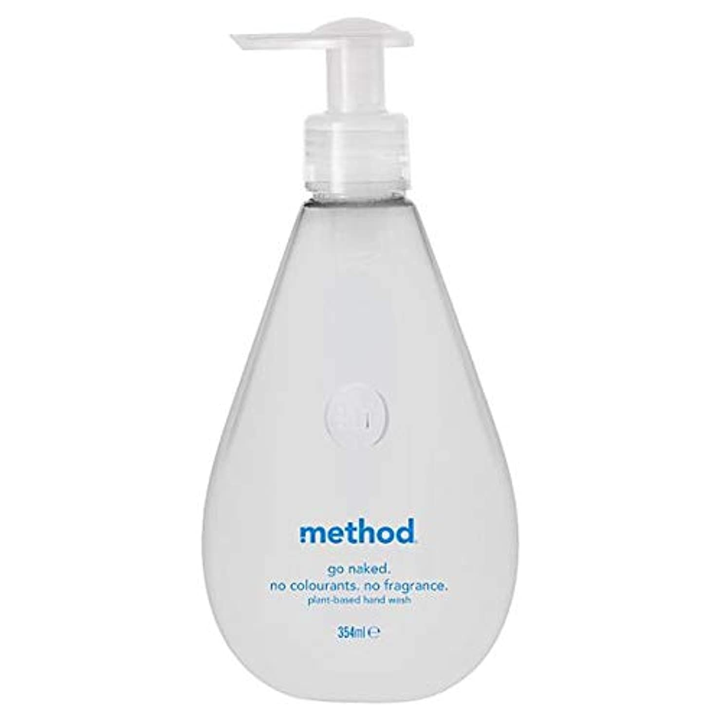 ホバートレコーダーコンピューター[Method ] 方法裸手洗いゲル354ミリリットル - Method Naked Hand Wash Gel 354Ml [並行輸入品]