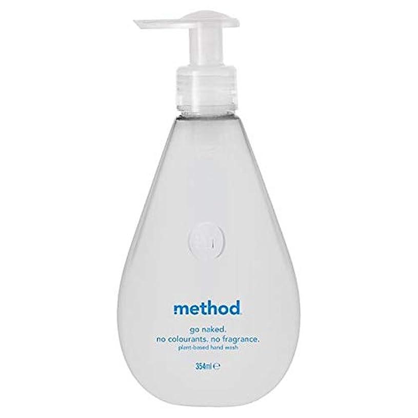 運命的なちょっと待ってリスキーな[Method ] 方法裸手洗いゲル354ミリリットル - Method Naked Hand Wash Gel 354Ml [並行輸入品]