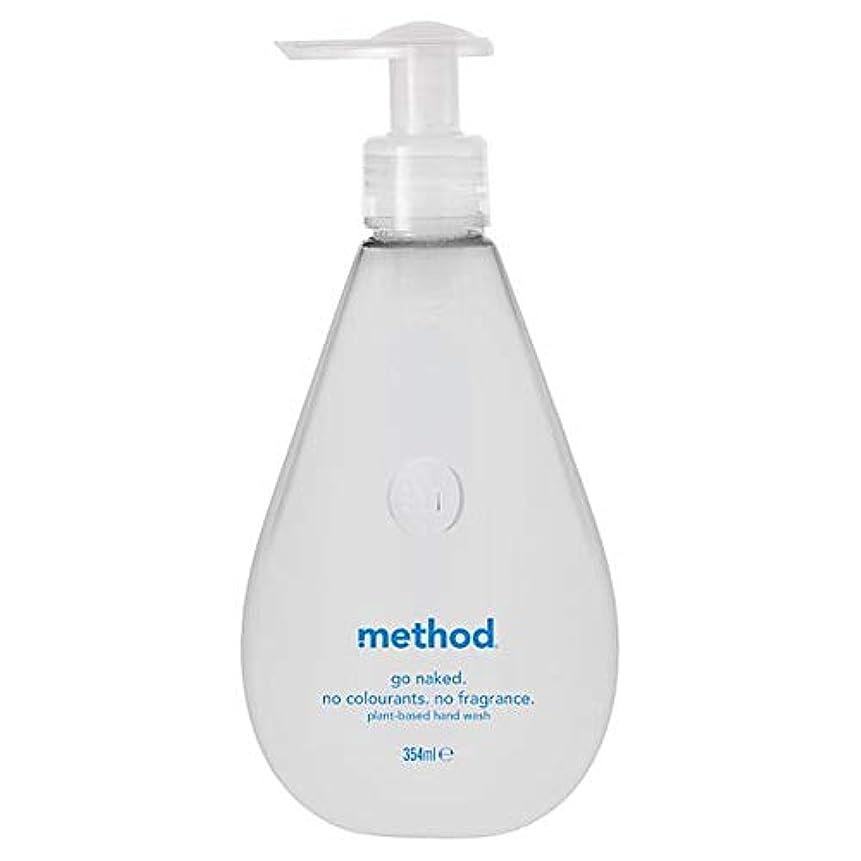 幸福気分が悪いバージン[Method ] 方法裸手洗いゲル354ミリリットル - Method Naked Hand Wash Gel 354Ml [並行輸入品]