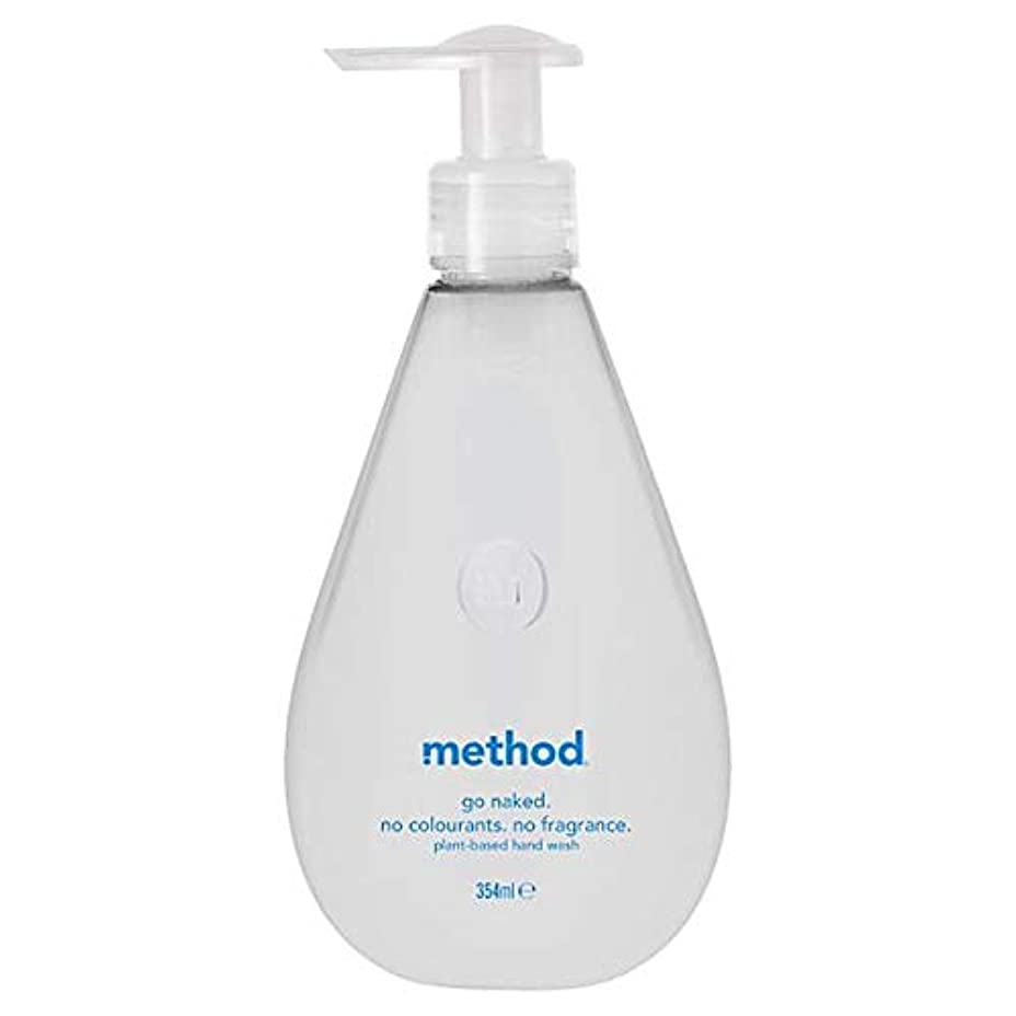 距離量送料[Method ] 方法裸手洗いゲル354ミリリットル - Method Naked Hand Wash Gel 354Ml [並行輸入品]