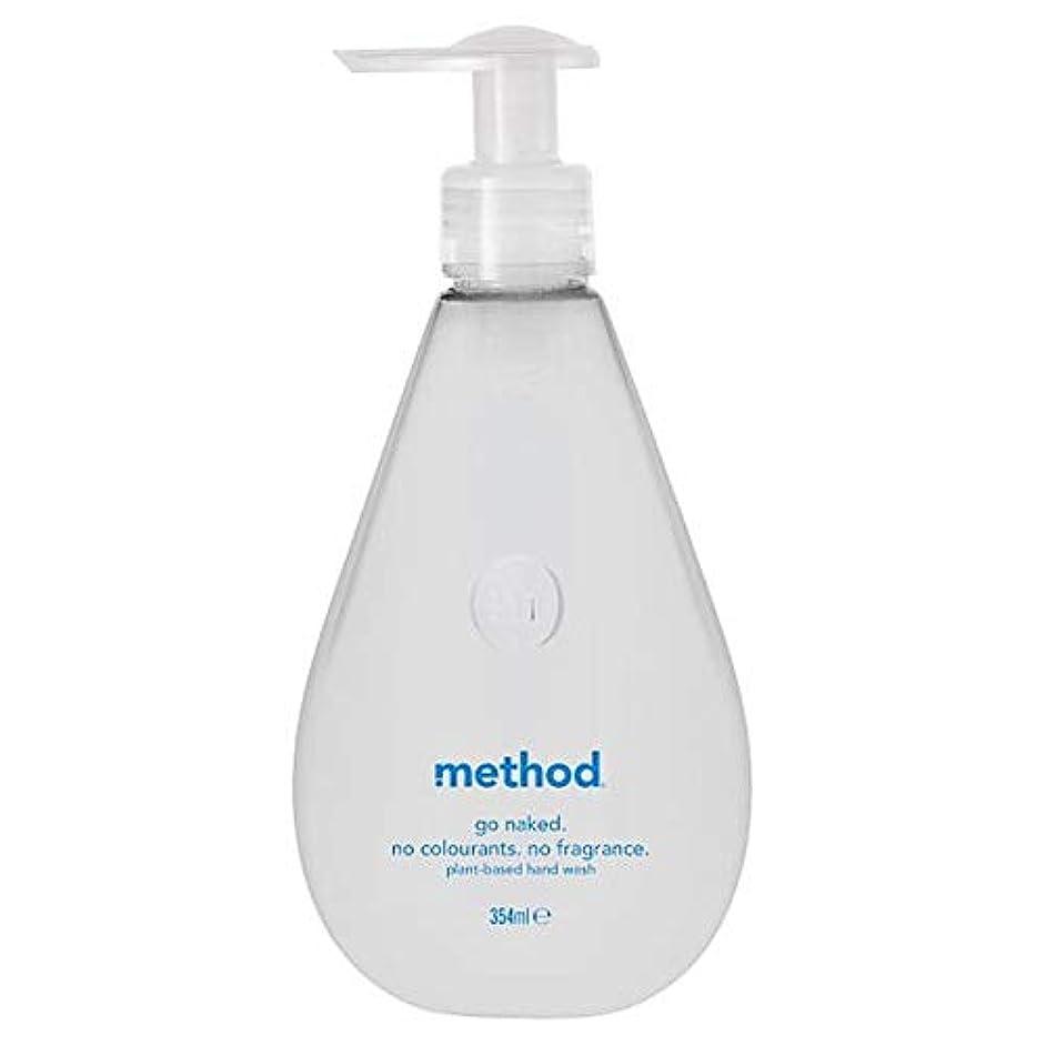 拒絶する飢入場料[Method ] 方法裸手洗いゲル354ミリリットル - Method Naked Hand Wash Gel 354Ml [並行輸入品]