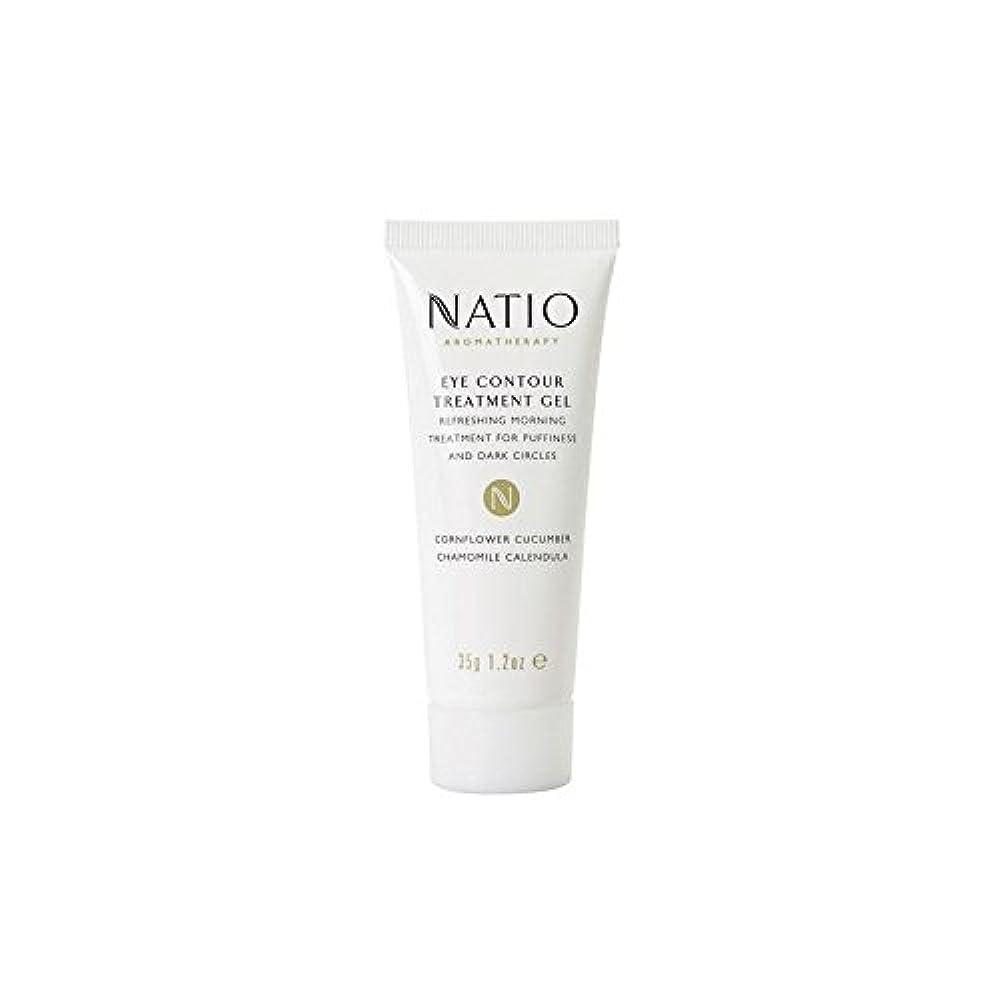 幸運浸漬今Natio Eye Contour Treatment Gel (35G) (Pack of 6) - 眼輪郭処理ゲル(35グラム) x6 [並行輸入品]