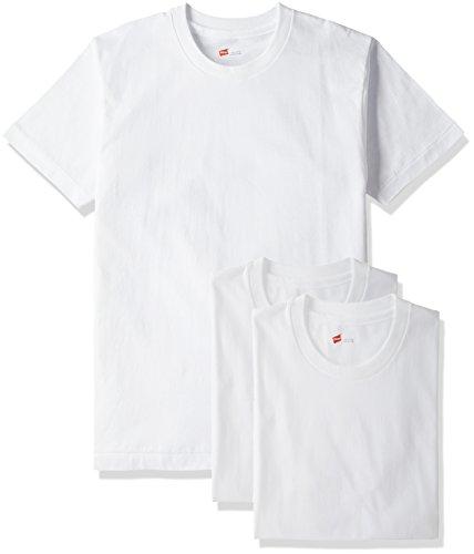 (ヘインズ)Hanes Tシャツ ゴールドラベル クルーネック 3枚組 (最新モデル)