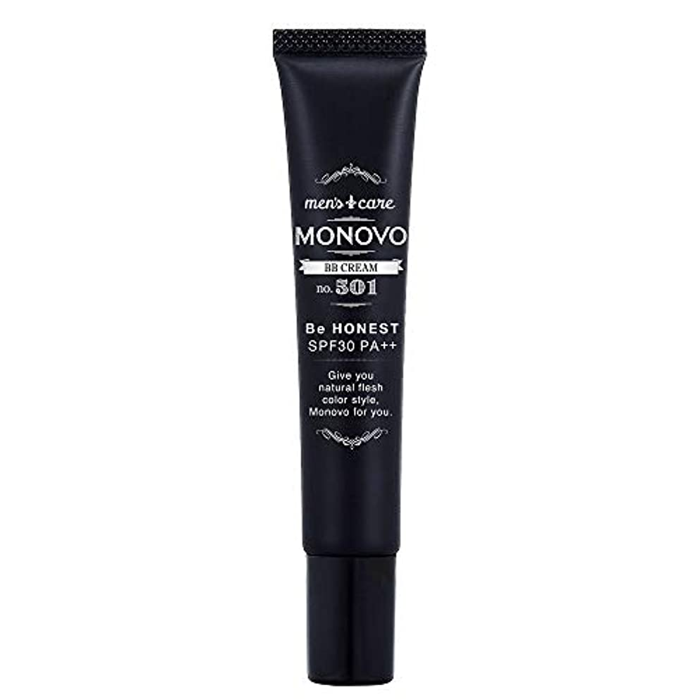 実験をする影響する北へMONOVO BBクリーム メンズ コンシーラー ファンデーション効果で青髭/テカリ/肌荒れ隠し[ SPF30/PA++] 1本 20g